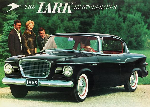 100/% Waterproof STUDEBAKER LARK 2-Door WAGON 1959-1964 CAR COVER
